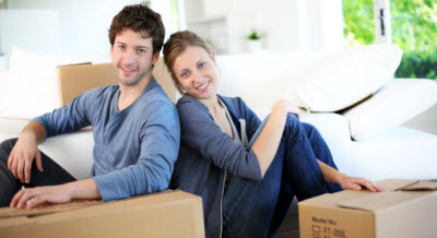 photo renters moving in